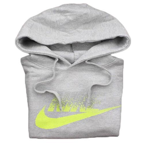 Nike 823876 Mens AW77 Futura Long Sleeve Pullover Hoodie Hooded Sweatshirt
