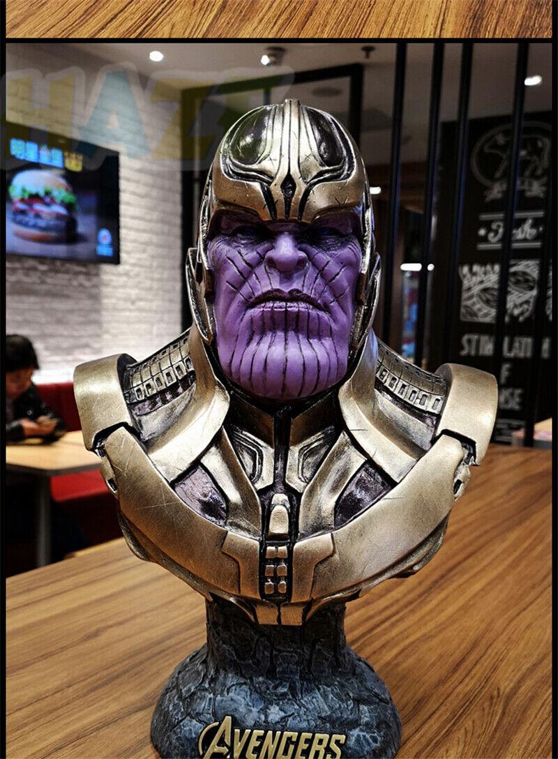 Avengers Infinity War THANOS cifra 1  2 autoautobusto in Resina Statua cifra Giocattolo modellolololino  negozio online