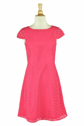 J. Crew Women Dresses A - Line 0 Pink Polyester