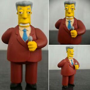 RARE Ltd Edition The Simpsons Kent Brockman Collectable Figure Fox tpf.com.au