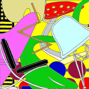 CHAIRS Design Icons Still Life Contemporary Ink Print Artist signed amp numbered - <span itemprop='availableAtOrFrom'>Morpeth, Northumberland, United Kingdom</span> - CHAIRS Design Icons Still Life Contemporary Ink Print Artist signed amp numbered - Morpeth, Northumberland, United Kingdom