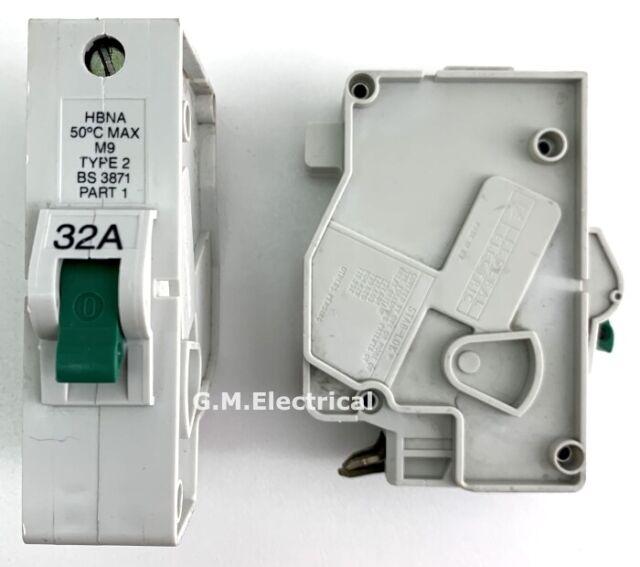 FEDERAL ELECTRIC 20 AMP MCB CIRCUIT BREAKER STABLOK STAB LOK 250V