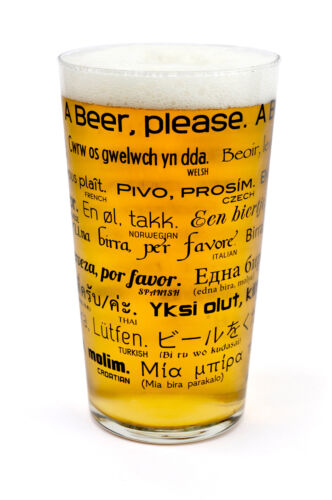 How to Order Beer Pint Wine Around the World 25 Foreign Languages Drinks Gift