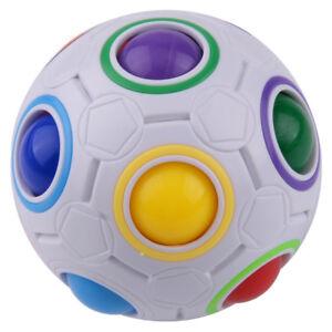 Neu Magic Cube Wurfel Ball Toy Spielzeug Lernspielzeug
