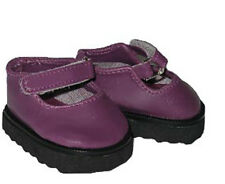 Plum Mary Jane Shoes Fits 18 inch American Girl Dolls