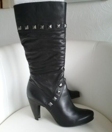 Lederstiefel Fashion Bronx Gr Damenstiefel 00 Np Neu €169 39 Schwarz fq5wFrqU
