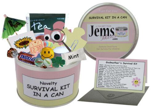 GODMOTHER Survival Kit Gift Birthday//Christmas//Baby//ThankYou//Baptism//Christening