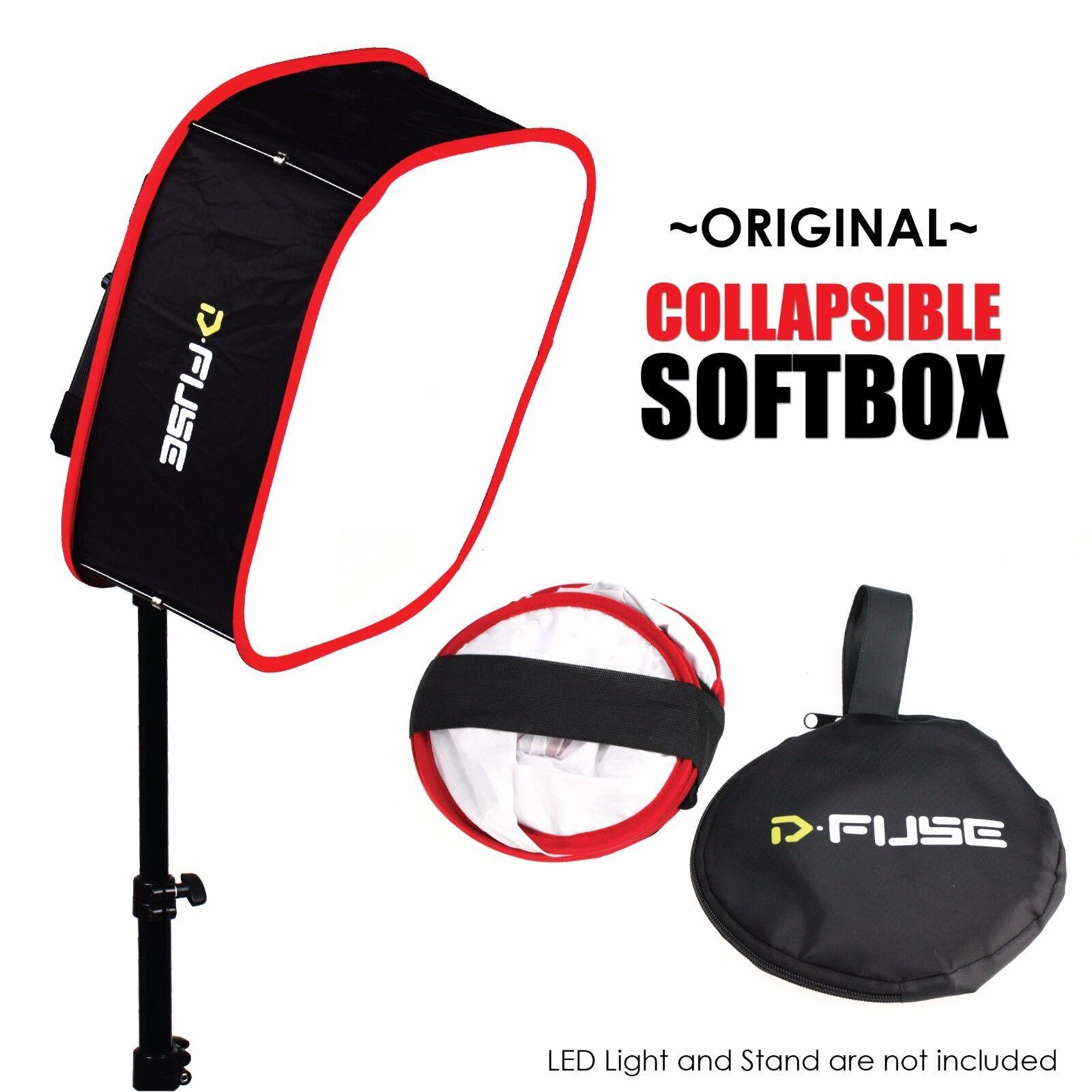 Honeycomb Grid Kamerar D-fuse Combo Foldable Diffuser Samll Collapsible LED Light Panel Softbox /& D-Fuse Softbox Grid for Aputure Amaran 528//672