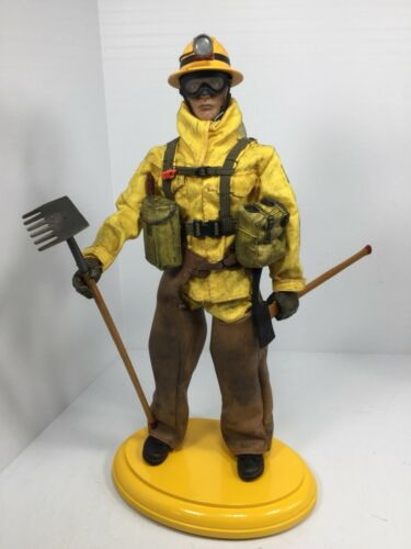 1//6 21ST CENTURY US FOREST SERVICE HOT SHOTTER  FIREFIGHTER DRAGON DID BBI 21