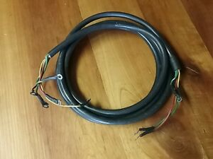 Evinrudejohnson Trolling Motor Electrical Cable Nos 390702 Pb 4 Ebay