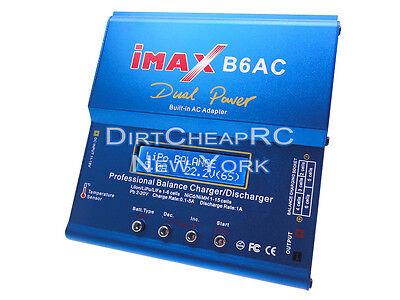 iMAX B6AC CAR 5A 50W AC/DC LiPo Battery Balance Charger Traxxas Deans EC3 Redcat