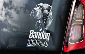 Bandog-On-Board-Auto-Finestrino-Adesivo-Beware-Of-The-Dog-Firmare-V01