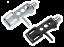 Indexbild 6 - Reloop Headshell Tonarmkopf Schale Aluminium für Tonabnehmer Da 1/2″ Black