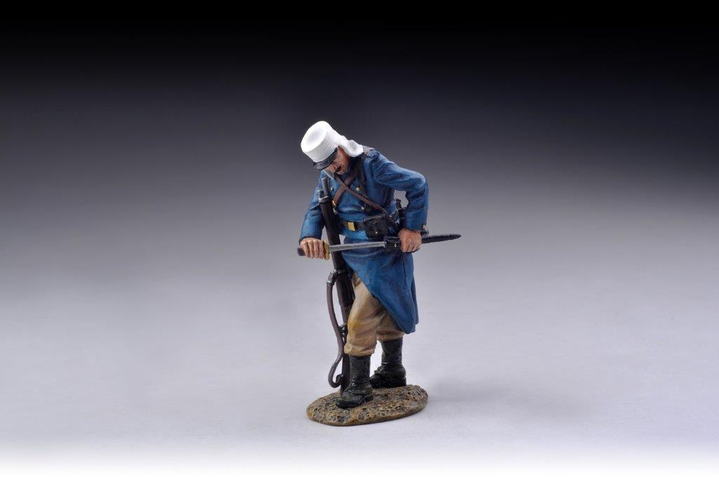 THOMAS GUNN FFL040C - Fix Bayonets  (Khaki Trousers) French Foreign Legion