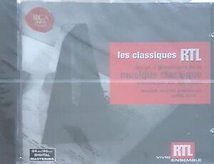 Classiques-RTL-Musique-Classique-Mozart-Vivaldi-Beethoven-CD-ALBUM-NEUF