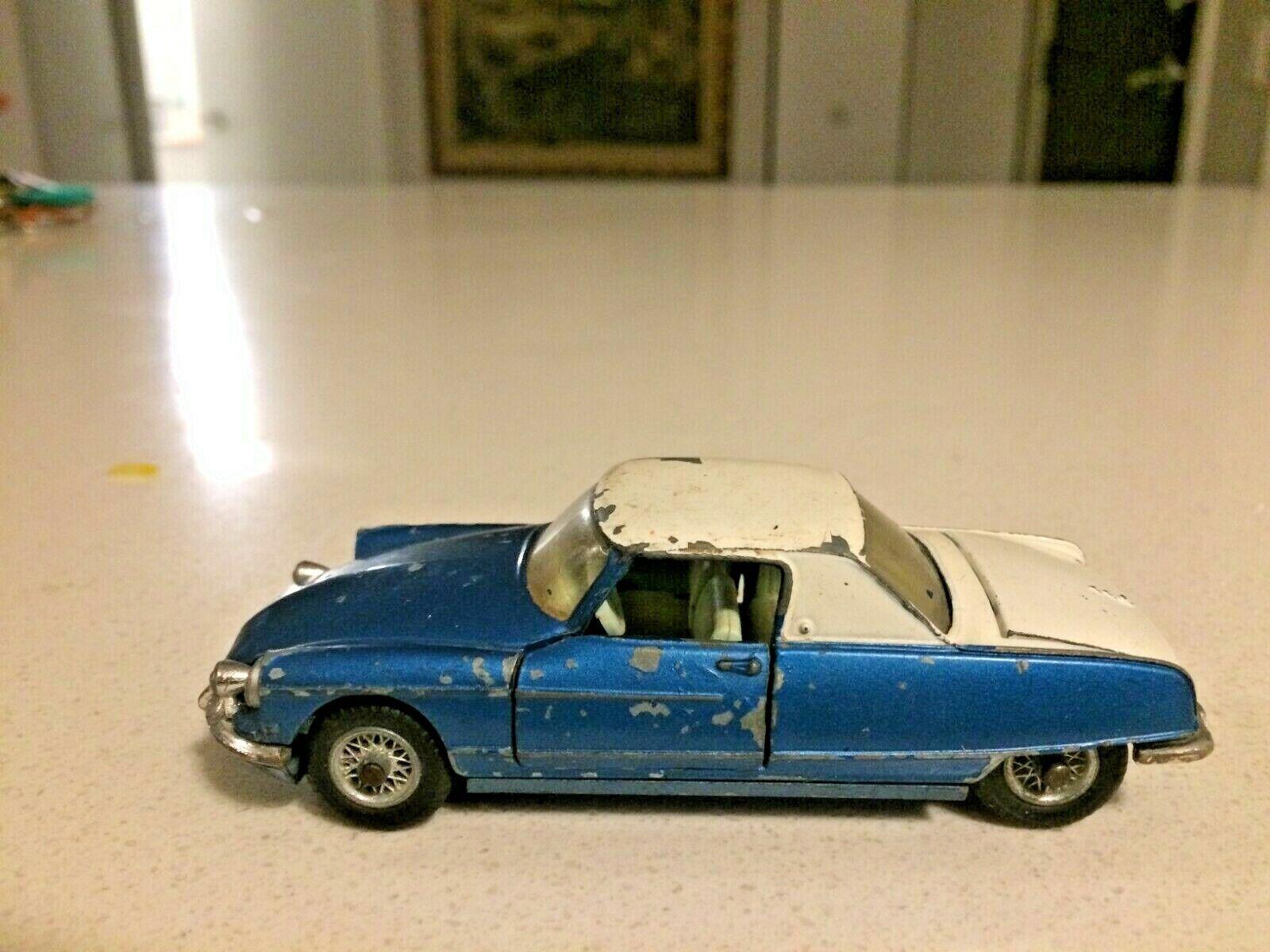 Corgi 259 Citroen Le Dandy Coupe   rare bluee & White