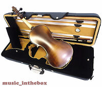 Good Quality 4/4 Antique Violin+octagon Stick Bow+rosin+square Case/free String