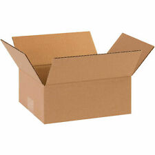 8 X 6 X 2 Flat Corrugated Boxes 65 Lbs Capacity 200ect 32 Lot Of 25