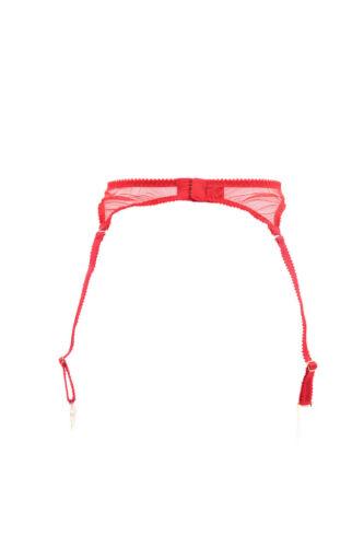 Floral Lace Provocateur Bcf88 Rrp £ 5055780002343 New 38 Suspender di L'agente Agent Red qxgwBIXx
