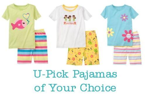 Novo com etiquetas Gymboree U-PICK 2 Peças Pijamas De Verão//Roupa De Dormir//gymmies Pijamas/'s de sua escolha