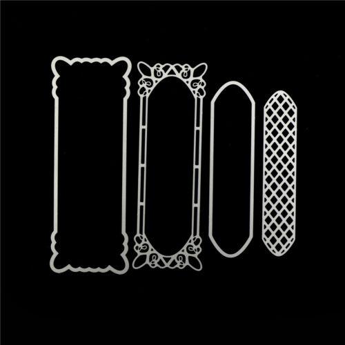 Hollow Lace Metal Design Cutting Dies For DIY Scrapbooking Album Paper new.