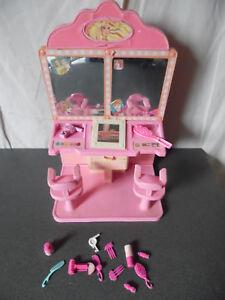 Details zu Rare Vintage 1987 Salon de Coiffure Coiffeur Barbie Mattel +  Accessoires