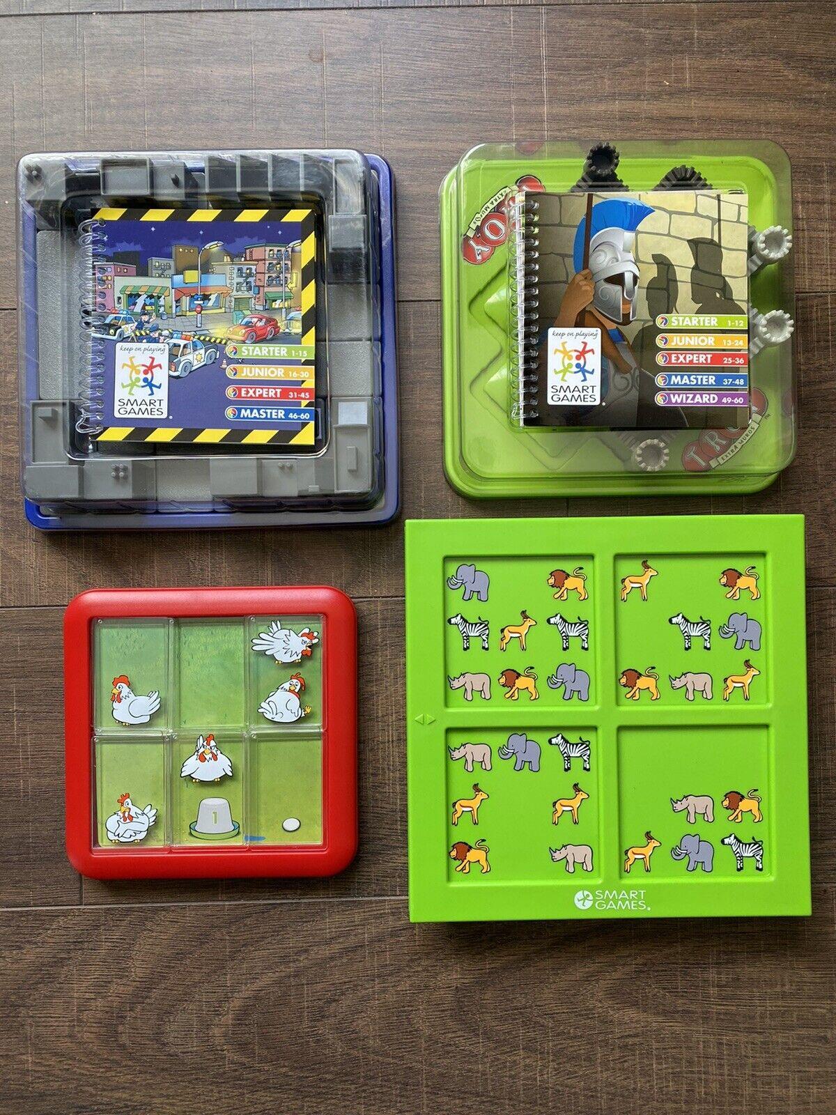 4 SmartGames Bundle - Educational Games 2