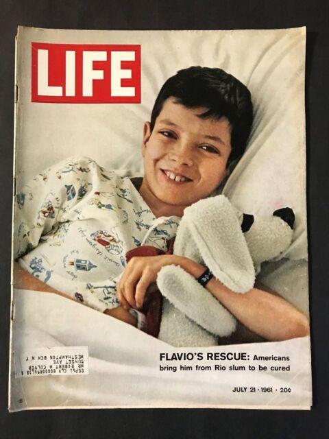 Life Magazine  July 21 1961  Flavio Da Silva's Rescue
