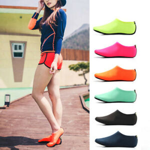 Adult-Kids-Water-Shoes-Socks-Diving-Socks-Wetsuit-Non-slip-Swim-Beach-Camo-JR15