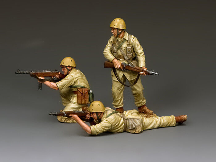 King and Country Folgore Fire Team (3-man set) IF042
