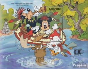complete Issue Structural Disabilities Unmounted Mint Lesotho Block89 Never Hinged 1992 Walt-disney