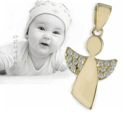 ♥♥Taufkette Schutzengel Taufschmuck GOLD 333 Taufgeschenk Mädchen Engel