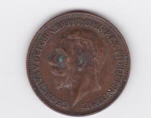 Coin - Britanniar 1934 Georgivs V  - Great Britain - George - Farthing -   r2256