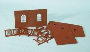 Wills-SS71-Round-Top-Windows-Walls-Pk-039-00-039-Plastic-Kit