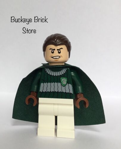 Lego Harry Potter MARCUS FLINT Slytherin Dark Green Quidditch 4737