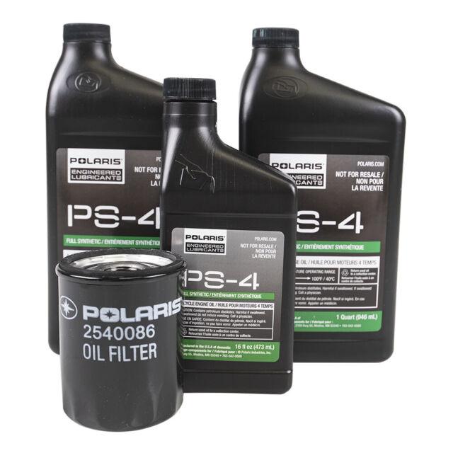 2013 2019 Polaris Ranger Xp 900 4x4 Eps Le Pursuit Oem Oil Change Kit 2879323 For Sale Online Ebay
