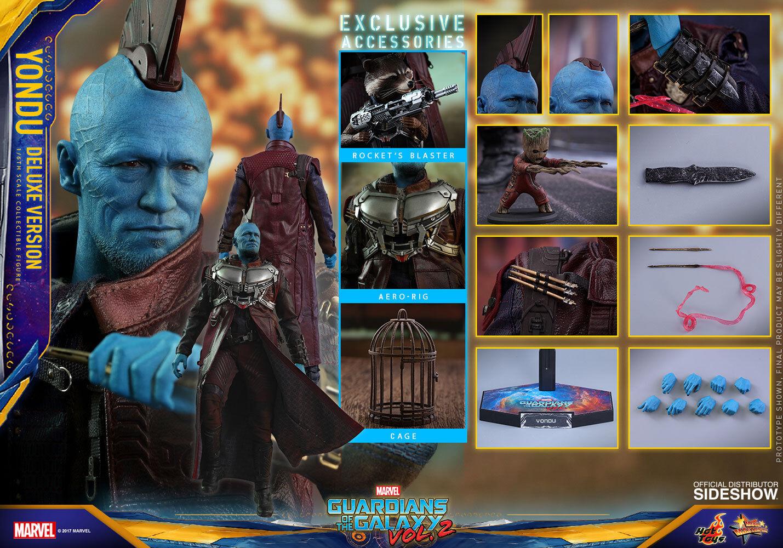 GOTG Vol 2 YONDU DELUXE (MMS436) Rooker Hot Toys 1 6_903103_SEALED SHIPPER