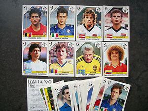 PANINI-WM-ITALIA-90-5-ORIGINAL-BILDER-AUSSUCHEN-PICK-5-STICKERS-WORLD-CUP