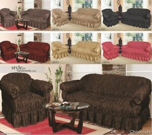 Image Is Loading Orted Jacquard Sofa Covers For 1 2 Amp