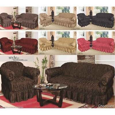 Assorted Jacquard Sofa Covers for 1, 2 & 3 seater sofa / Alternate to Sofa Throw
