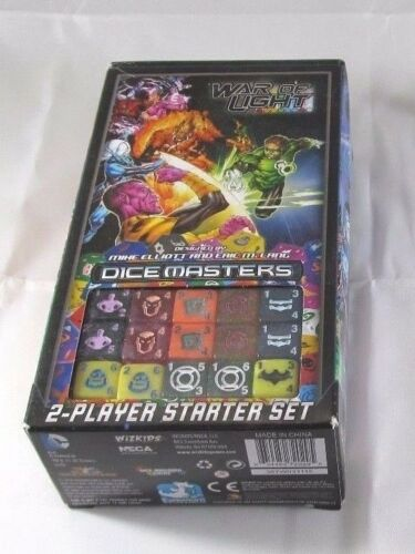 DC Dice Masters STARTER SET New /& Unopened WAR of LIGHT