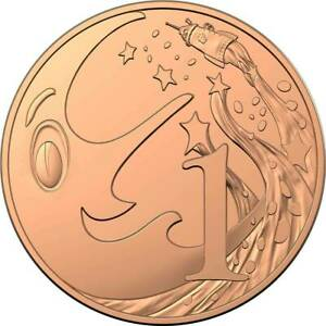 2019-1-Cent-Coin-60th-Anniversary-of-Mr-Squiggle-and-Friends-Unc-Very-rare