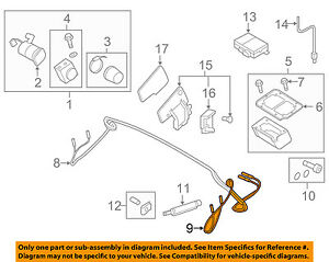 Details about AUDI OEM 08-15 TT Quattro Motor-Convertible/soft Top-Oil Pipe  Left 8J7898761