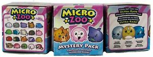 Micro Zoo Microzoo - 3 Pack, Small Plush Collectible, Blind Box Assortment