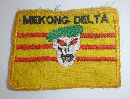 SOG SOUTH VIETNAM FLAG PATCH Command Mekong GREEN BERETS Vietnam War Y