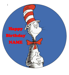 Cat-in-the-Hat-personalised-edible-Image-cake-topper-real-icing-sheet-19cm-175