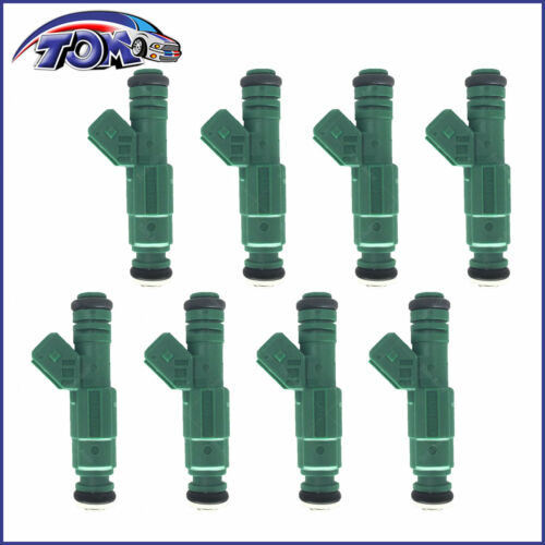 BRAND NEW SET OF 8 FUEL INJECTORS FOR VOLVO C70 S60 V70 0280155968