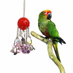 Pet Bird Bites Parrot Climbing Chew Toys Hanging Cockatiel Parakeet Swing Cage