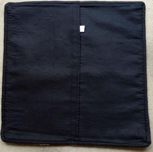Wool Pillow Cover HIMayPC-61 Hand Woven Southwest Southwestern 18X18