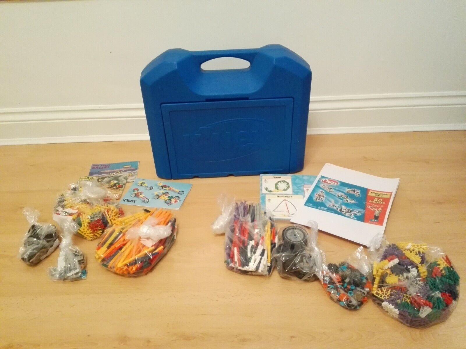 475 Piece K'NEX 50 Models Building Set & 467 Additional Parts& Pieces = 942